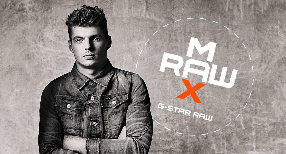 MAXRAW | Max Verstappen X G Star RAW Colección | G Star RAW®